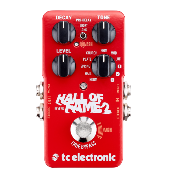 TC electronics hall-of-fame-2-reverb-front-hires